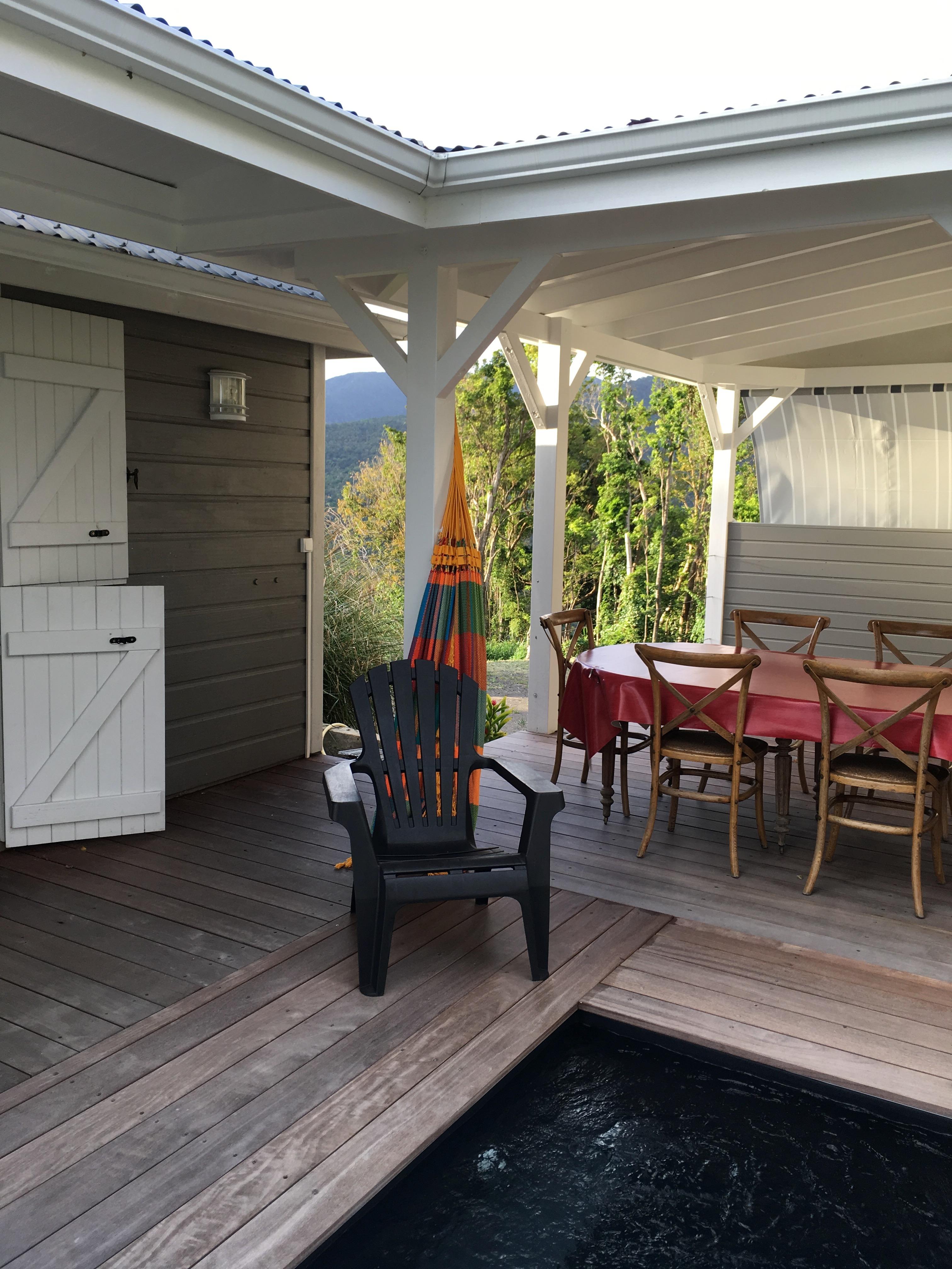 Location gite avec hamac pour 4 en Guadeloupe