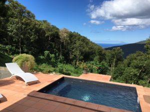Location de gite avec piscine pour 4 personnes en Guadeloupe