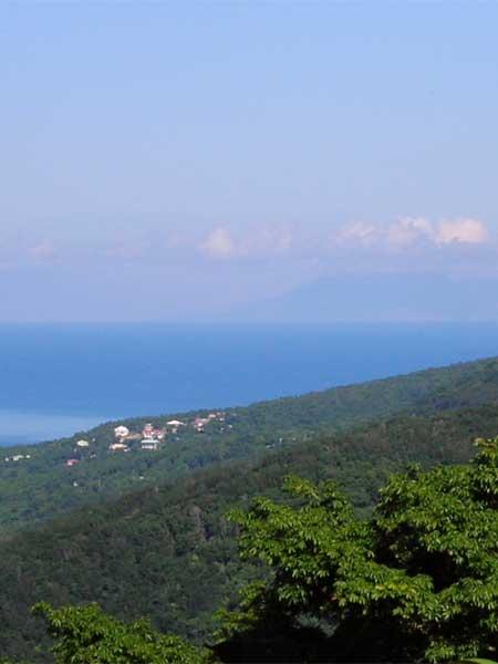 Location de gite avec vue dégagée en Guadeloupe