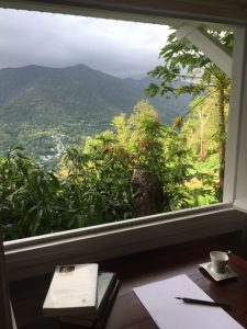 La chambre de l'écrivain, location de gite pour 2 personnes en Guadeloupe