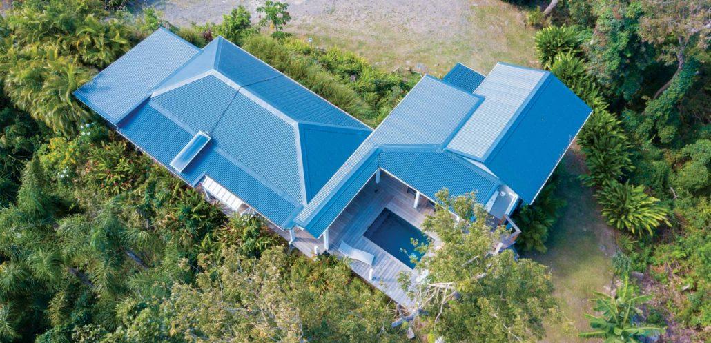 Location de gite avec piscine privée à Pointe Noire en Basse Terre Guadeloupe