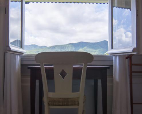 Location de gite en Guadeloupe pour 2 personnes, la chambre de l'Ecrivain