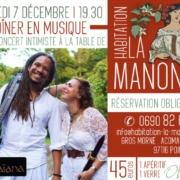 Dinert Concert Guadeloupe