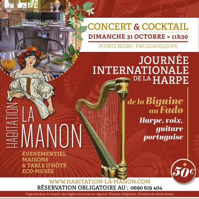 Concert et cocktail journée de la harpe